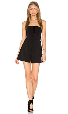Jay Godfrey Bailor Romper in Black