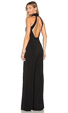 Jay Godfrey Manila Jumpsuit in Black