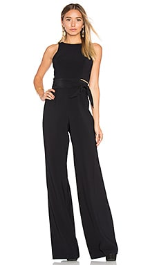 Johnson Jumpsuit in Black & Black