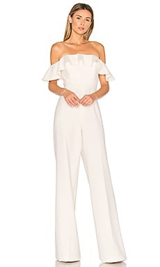 Biondi Jumpsuit in Light Ivory