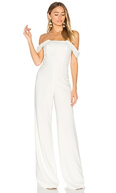 Brin Jumpsuit in Light Ivory