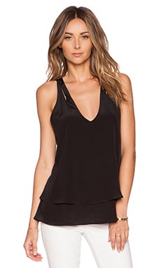 Jay Godfrey Natayla Top in Black
