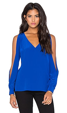 Jay Godfrey Abington Top in Electric Blue