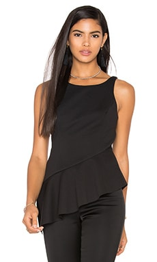 Jay Godfrey Felix Top in Black