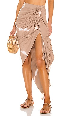 Tulum Tie Dye Skirt Just BEE Queen $335