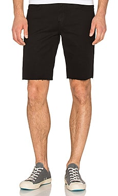 J Brand Tyler Cut-Off Short in Black