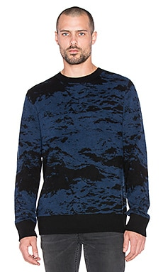 J Brand Fitz in Black & Navy Multi