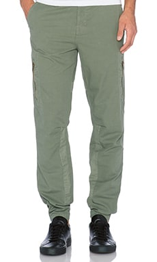 J Brand Aviator Pant in Military Green