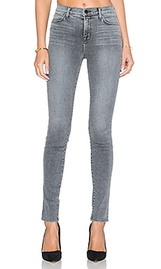J Brand Maria High Rise Skinny in Dove