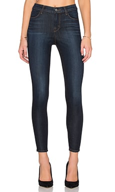 J Brand Alana High Rise Crop in Lawless