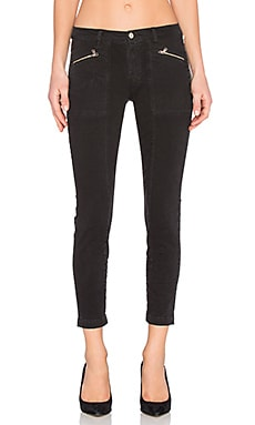 Genisis Mid Rise Utility Pant in Direct Black