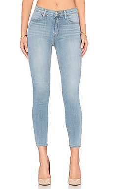 J Brand Alana High Rise Crop in Oceanside