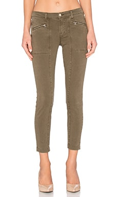 J Brand Genisis Mid Rise Utility Pant in Distressed Trooper