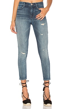 JEAN CROPPED TAILLE HAUTE ALANA