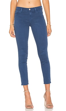 J Brand Low Rise Ankle Crop Estate Blue