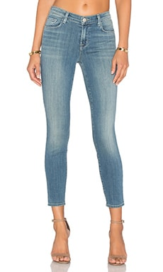 J Brand Mid Rise Crop in Seaside