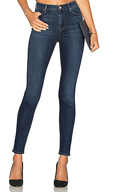 Maria High Rise Skinny in Fleeting