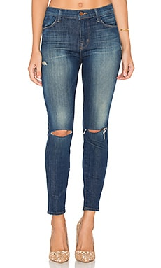 J Brand Alana High Rise Crop in Volatile
