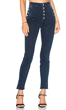 J Brand Natasha Sky Super High Skinny in Allegiance