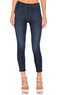 J Brand Alana High Rise Crop in Daring