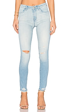 Maria High Rise Skinny in Superstar Destructed