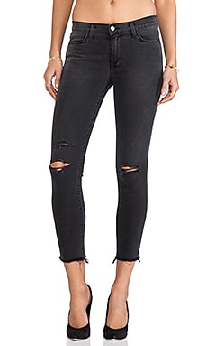 Cropped Mid Rise Skinny en Chrome Mercy