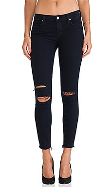 J Brand Ankle Midrise Skinny in Blue Mercy