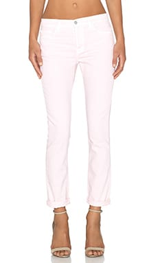 J Brand Georgia Slim Boyfriend in Frosted Pink
