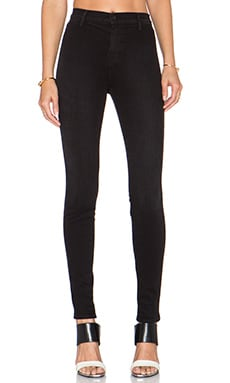 J Brand Vida Super High Rise Skinny in Tainted