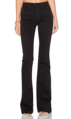 J Brand Maria Flare in Serious Black