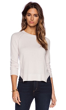 J Brand Eugenia Sweater in Pale Buff