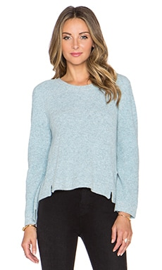 J Brand Burlington Sweater in Heather Atmosphere