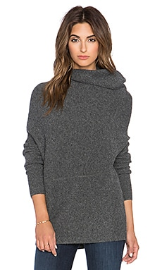 J Brand Lindley Sweater in Medium Heather Grey