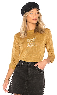 x Bella Freud Sparkle Boy Girl Jumper