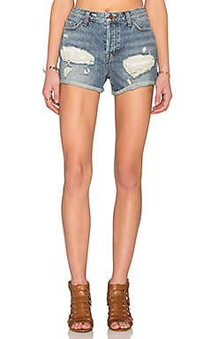 J Brand Gracie Cuff Short in Elevation
