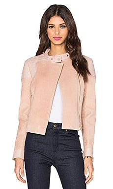 J Brand Cardiff Jacket in Rose Cloud