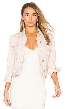 Harlow Distressed Jacket in Teaser