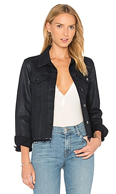 Slim Frayed Jacket