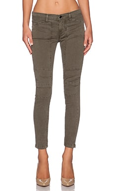 J Brand Ginger Mid Rise Utility Pant in Jungle