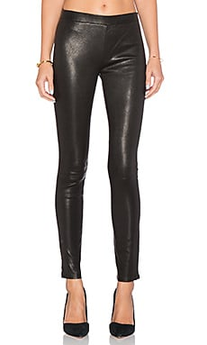 J Brand Edita Pull On Legging in Black