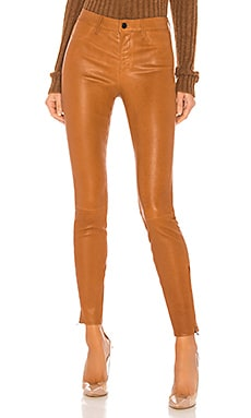 L8001 Leather Mid Rise Skinny Pant J Brand $998 NEW ARRIVAL