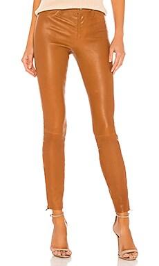 L8001 Leather Mid Rise Skinny Pant J Brand $998