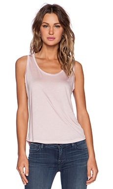 J Brand Natasha Tank in Powder Dust