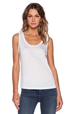 J Brand Natasha Tank in White