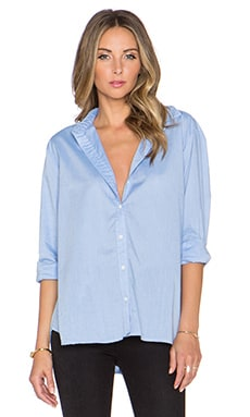 J Brand Atlantic Button Up Shirt in Blue
