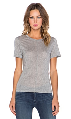 J Brand Jaden Tee in Heather Grey