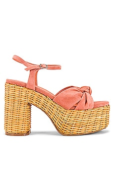 SANDALIA DE PLATAFORMA TEA PARTY Jeffrey Campbell $165