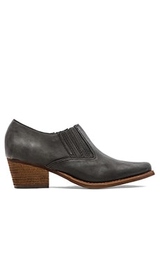 Jeffrey Campbell Barstow Bootie in Black Distressed