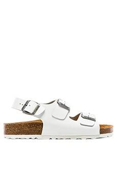 Jeffrey Campbell Milos Sandal in White