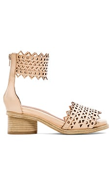 Jeffrey Campbell x REVOLVE Borgia Sandal in Natural